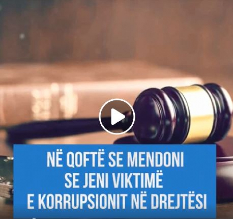 """Qytetaret kunder Korrupsionit ne Drejtesi"""